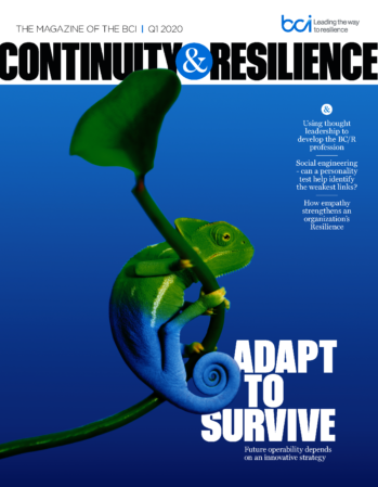 Continuity&Resilience magazine Q1 2019