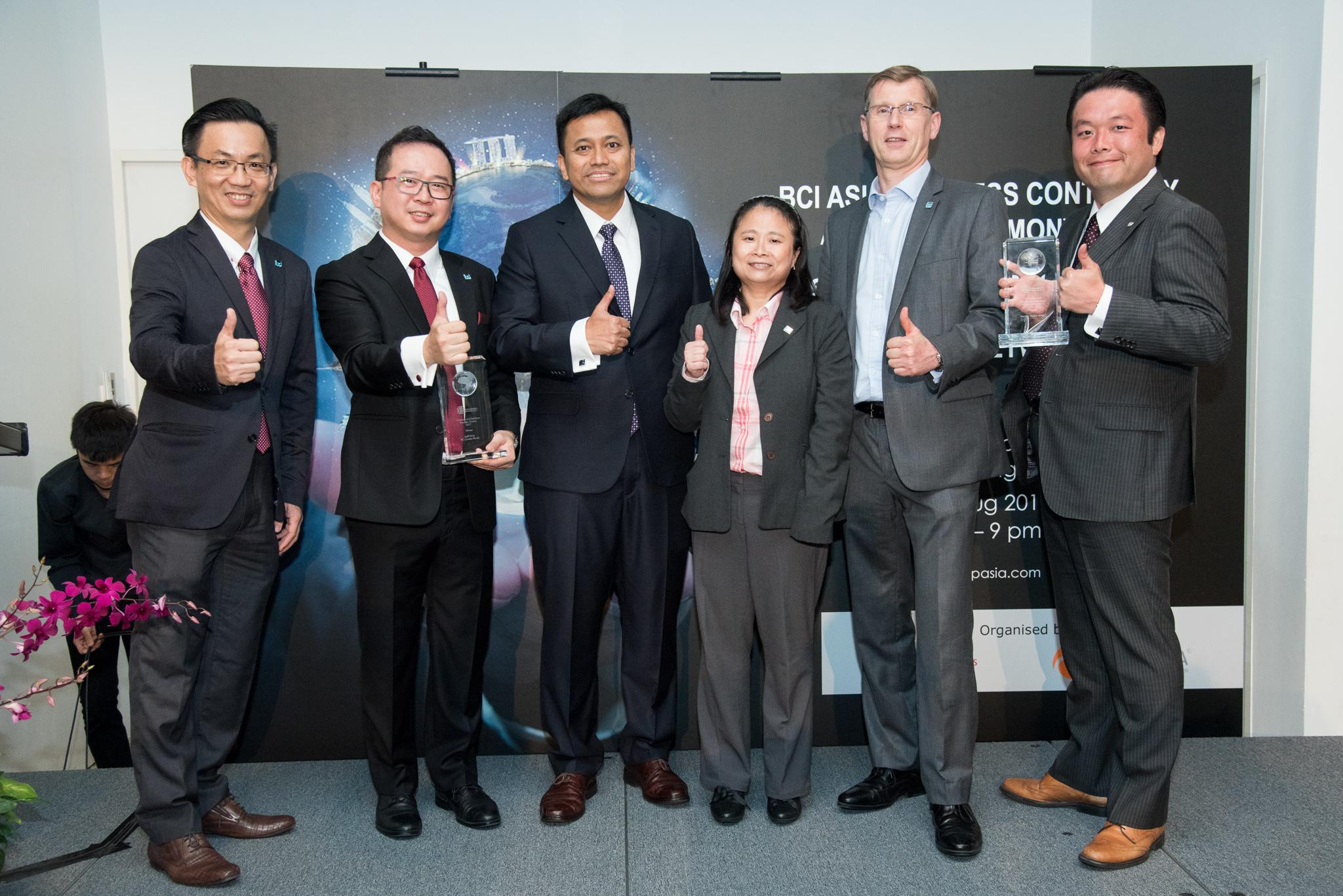 BCI Asia Awards 2017 Winners