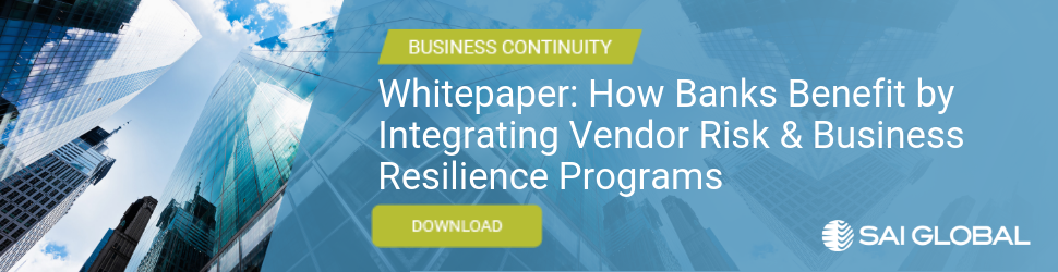 White Paper: How Banks Benefit by Integrating Vendor Risk